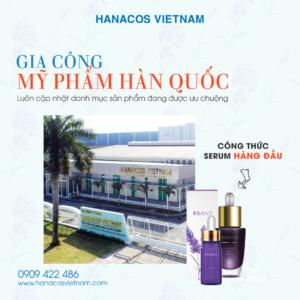 Hanacos Vietnam - Gia công mỹ phẩm theo tiêu chuẩn Hàn Quốc