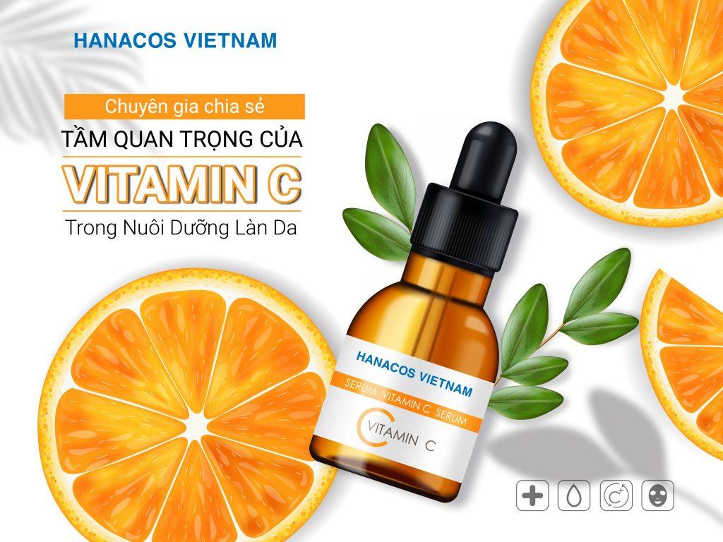 Serum Vitamin C dưỡng trắng sáng da, mờ thâm