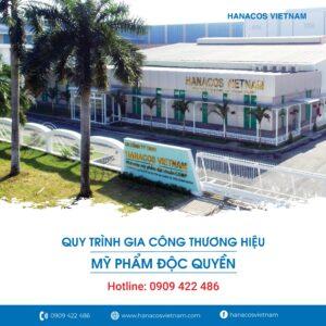 Gia công mỹ phẩm Hanacos Vietnam
