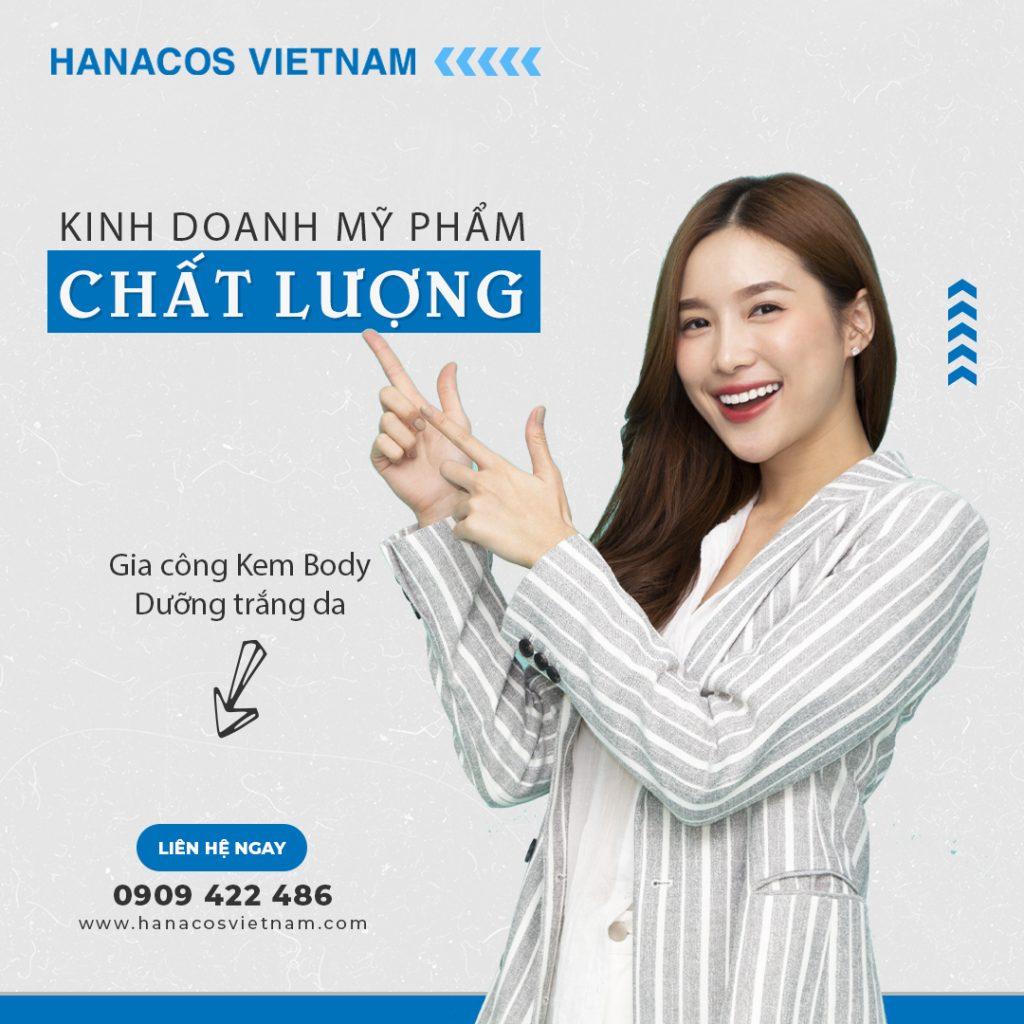Hanacos Vietnam gia công Body Lotion trọn gói