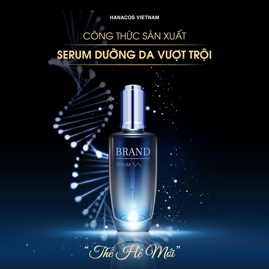 Hanacos Vietnam sản xuất Serum dưỡng da theo tiêu chuẩn Hàn Quốc với nhiều điểm vượt trội trong sản phẩm