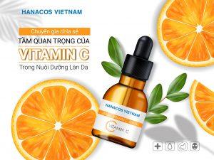 Gia công serum vitamin C - Hanacos Vietnam